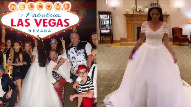 Druhá svatba Zuzany Plačkové: Z královny Instagramu se stala princezna Las Vegas