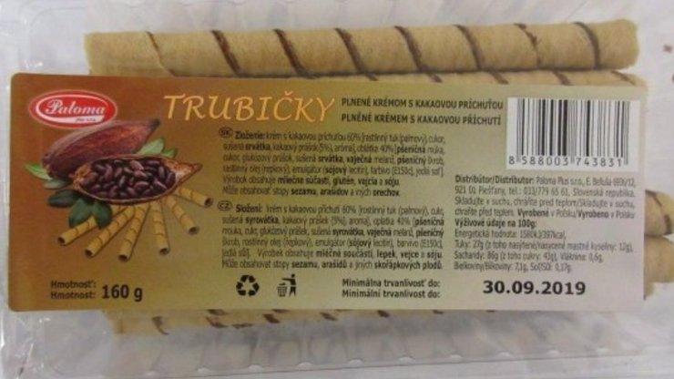 Zákaz prodeje další nebezpečné potraviny z POLSKA: Trubičky ohrožující život alergiků!