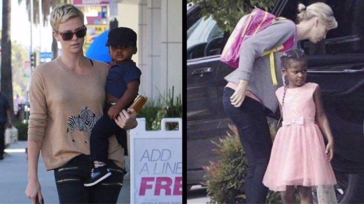 Charlize Theron pod palbou kritiky: Svého adoptovaného syna vychovává jako dívku