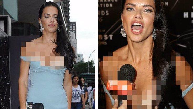 Trapas andílka z Victoria's Secret: Modelce na červeném koberci spadly šaty a ona si toho nevšimla!