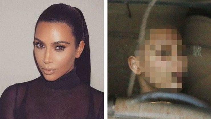 Strašák nebo kočka? Tady je fotka Kim Kardashian bez make-upu!