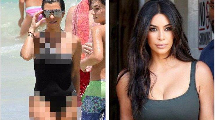 Kim, jdi se zahrabat! Tvoje starší sestra Kourtney je mnohem víc sexy a tady je důkaz!