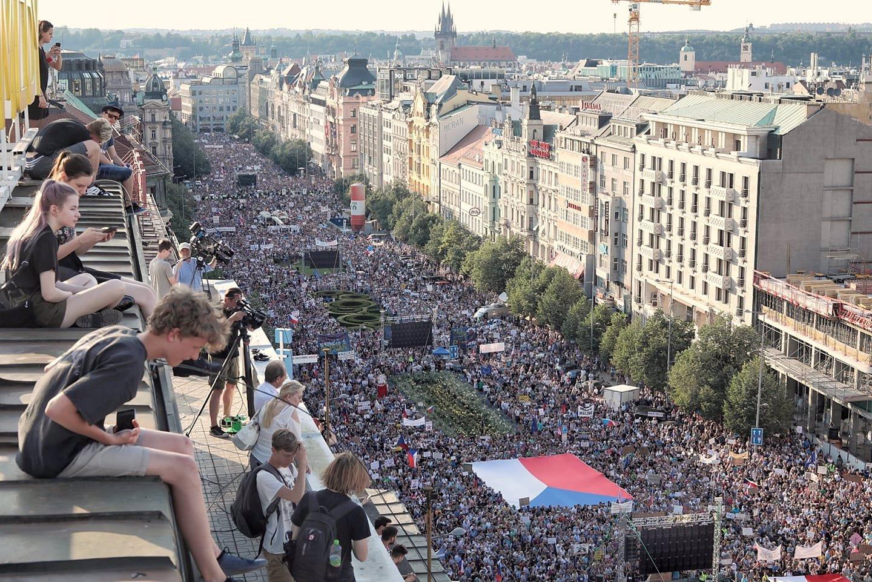 Milion chvilek pro demokracii chystá přes 150 protestů: Hlavní bude na Staromáku