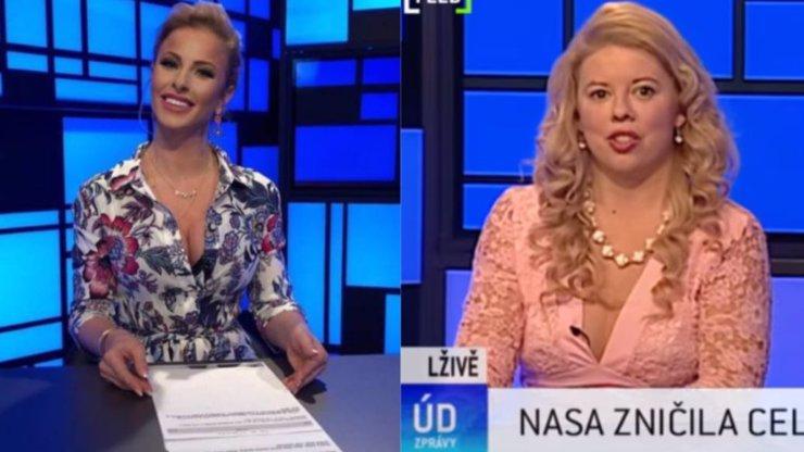 Nejbizarnější epizoda Úplně debilních zpráv: K Sonie Edde se přidala koktavá Markéta Galuszková