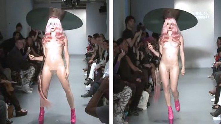 VIDEO: Módní přehlídka se stala HITEM INTERNETU: Modelka si tu vykračuje POUZE v botičkách a klobouku!