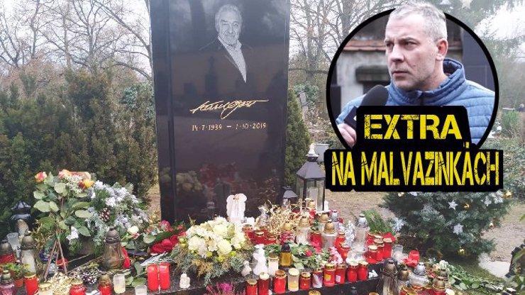 Aktuálně z Malvazinek: Lidé si nadělují cestu k hrobu Karla Gotta místo dárků! Podívejte se na VIDEO