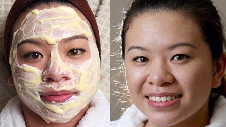 Bizarní pleťová maska: Přečtěte si tip na luxusní omlazovací dezert, který zvládnete doma taky!