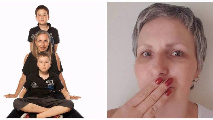 Zesnulá modelka Karolína Emingrová žila pro syny: Byly ale dny, kdy jen plakala