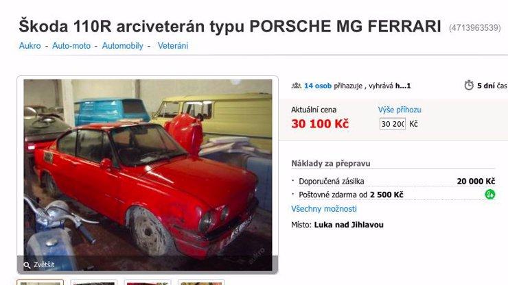 Nejvtipnější inzerát na Aukru: Takhle se, přátelé, prodává auto!