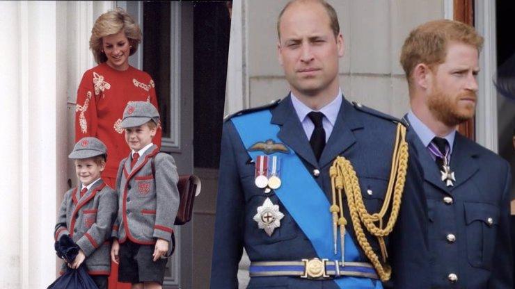 První setkání po skandálu: Harry bude doprovázet rakev vedle bratra, prince Williama
