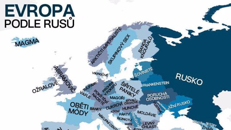 Jak Rusové vidí Evropu?
