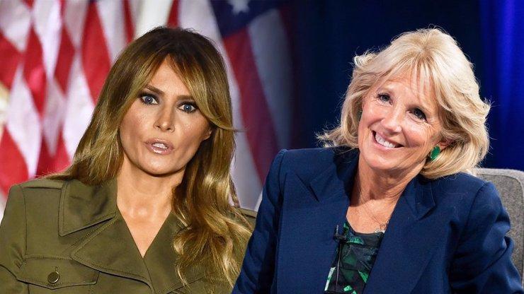 Střídání prezidentů a jejich drahých poloviček: Jill Biden je první dámou po Melanii Trump