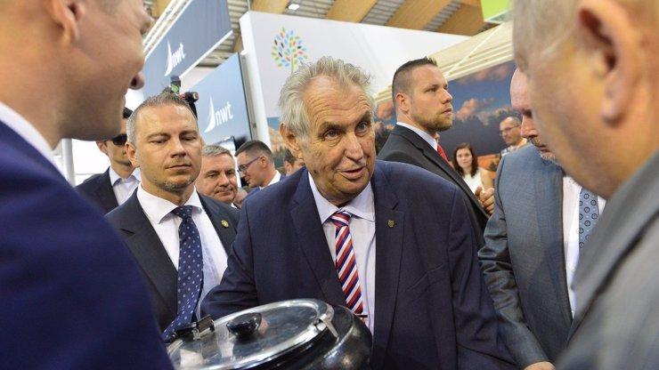 Miloš Zeman promluvil o vzniku úřednické vlády: Budu čekat na volby