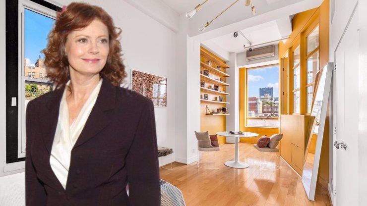 Susan Sarandon prodala svůj obří byt v New Yorku: Tak vypadá přepych za 181 milionů