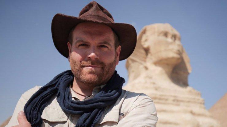 Známý dobrodruh Josh Gates se tentokrát vydal do Egypta.