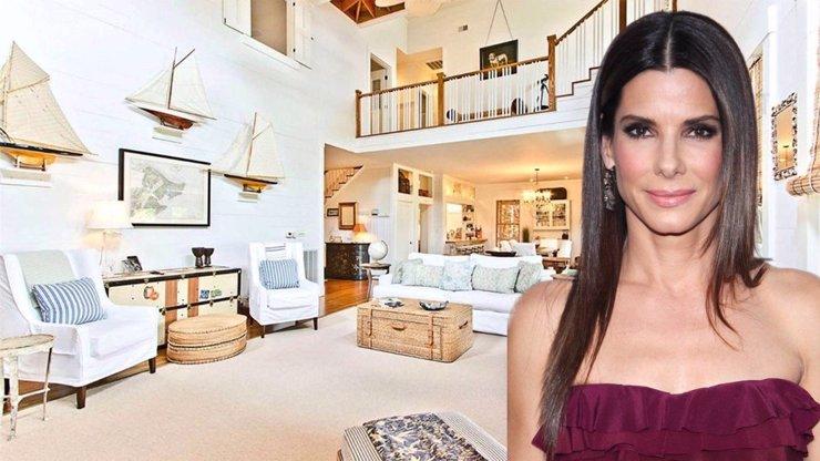 Sandra Bullock slaví 56: Oblíbená herečka se zbavuje dvou luxusních domů za miliony