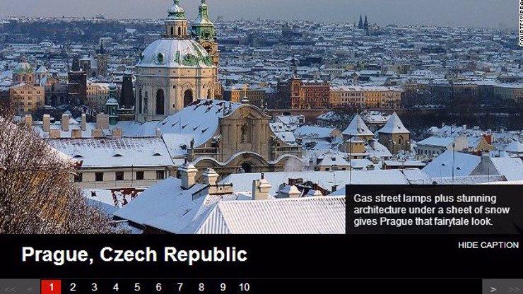 Připravte se na nával turistů, CNN Prahu označila za nejlepší zimní destinaci na světě!