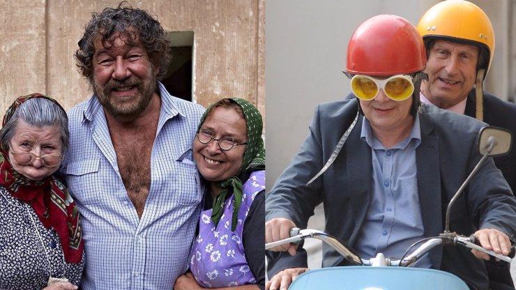 Babovřesky 2 i Kameňák 4 mají hotovo: Podívejte se na poslední fotky z natáčení a tipněte si, kolik na obou filmech vyrejžovala rodina Agáty