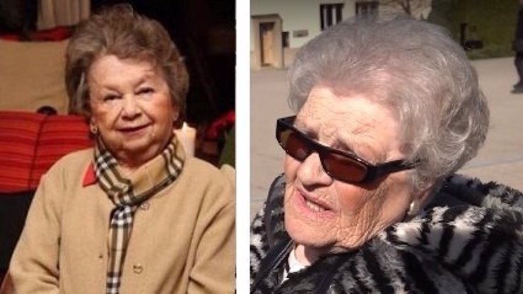Podivná stařenka Milada: Obráží pohřby slavných a vypráví, že je jejich příbuzná