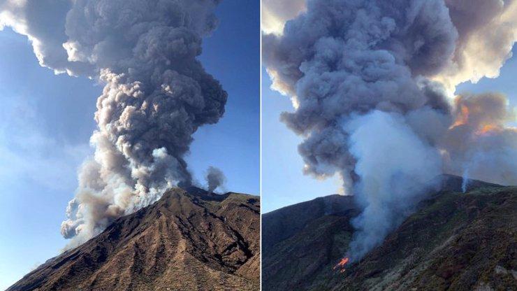 U sopky Stromboli v Itálii propuklo peklo: Výbuch zabil turistu, další popadali do moře!