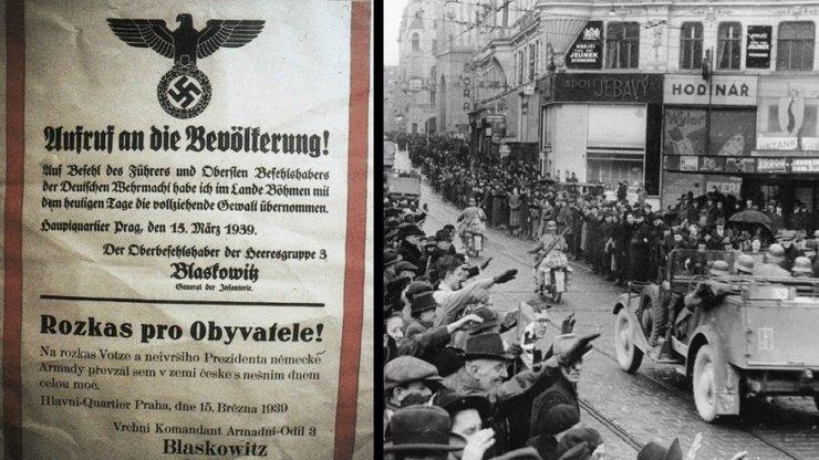 Tragické výročí: 15. března začalo období temna. Během německé okupace zemřelo více než 300 000 lidí