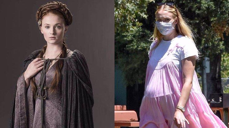 Sophie Turner to má za pár: Sansa ze seriálu Hra o trůny bude maminkou co nevidět