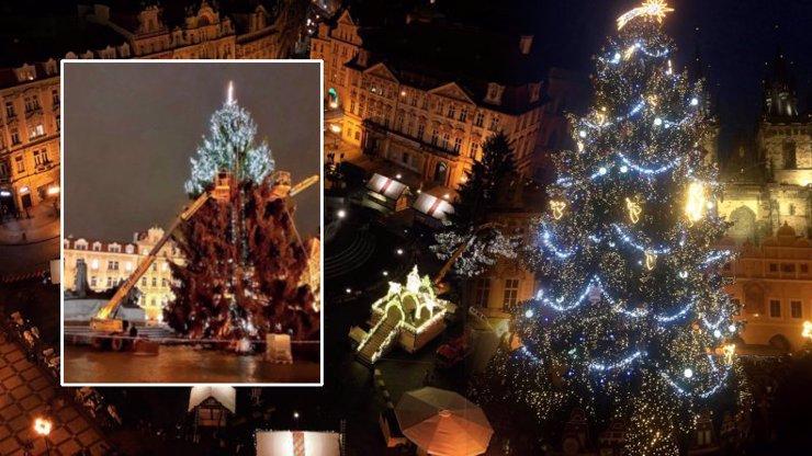 Stromeček na Staromáku už svítí: Praha má zase nejkrásnější vánoční trhy