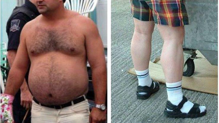 7 nejhorších módních prohřešků mužů! Pánové, tohle nesmíte nosit!