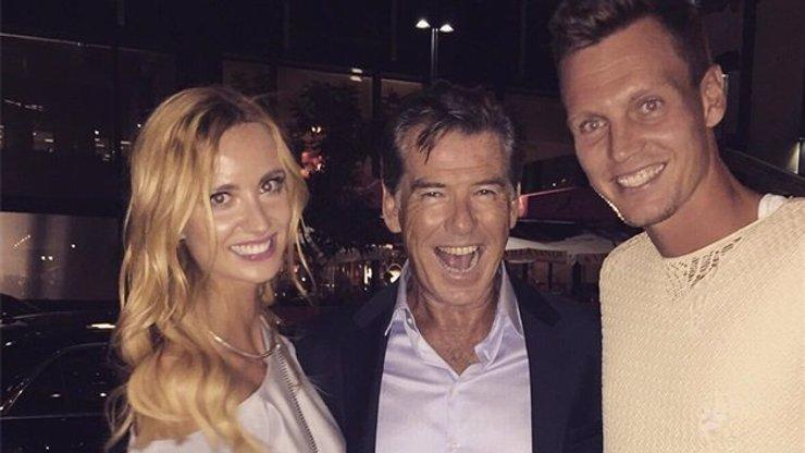 Tomáš Berdych si musel svou manželku Ester hlídat před agentem 007!