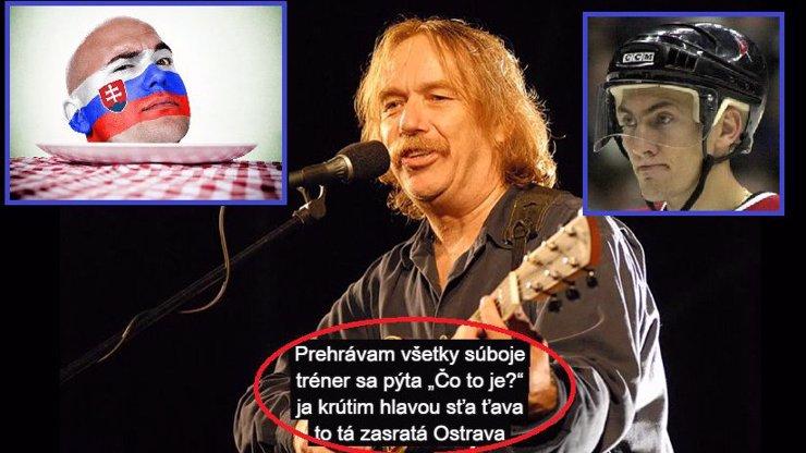 Nohavica a jeho píseň slovenskému hokeji ve druhém odborném posudku eXtra: Výsledek?  VLASTIZRADA! Jarek není vůbec zlý!!!