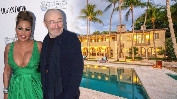 Phil Collins bojuje s manželkou: Konečně ji vykopl z paláce, který doteď okupovala