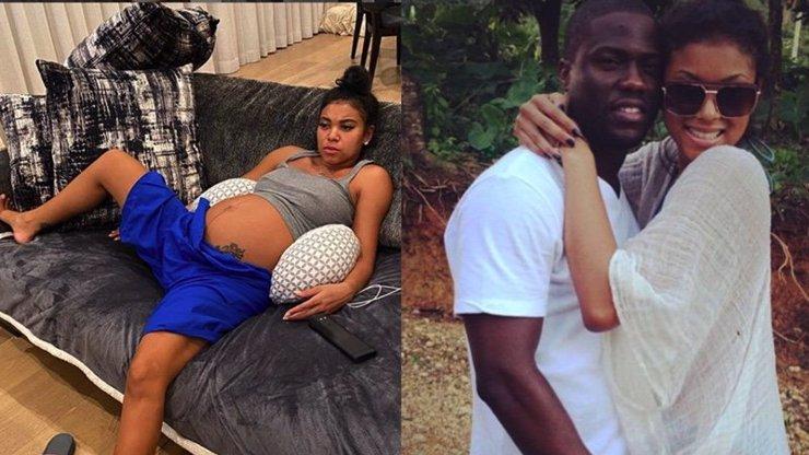 Kevin Hart se pochlubil fotkou své drsné těhotné manželky: Určitě mě za to zabije, říká herec