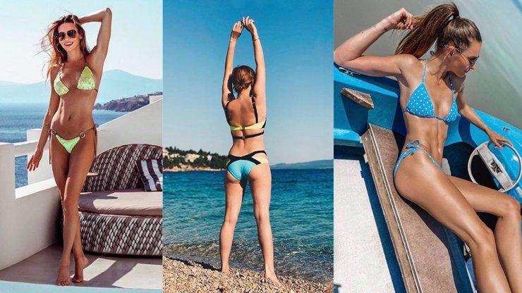 14 hvězd v plavkách: Schneiderová ukázala luxusní pozadí, Verešová ploché bříško