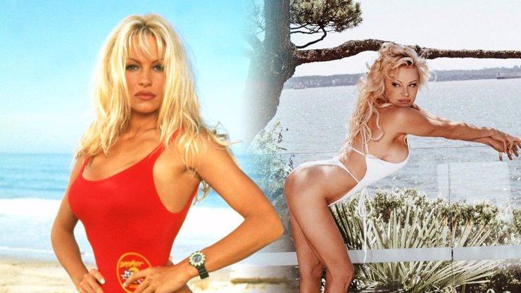 Pamela Anderson je sexy i po padesátce: Fanouškům se chlubí svým pevným pozadím