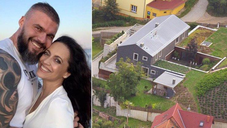 Otvovické panství Lucie Bílé: V domě za 40 milionů má dvě jídelny i tajnou místnost