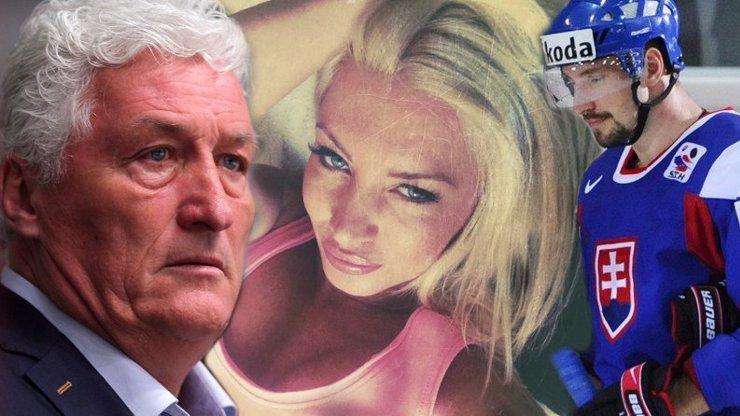 Je to zlatokopka, napíšu o tom knihu: Bývalý manžel útočí na přítelkyni trenéra Miloše Říhy