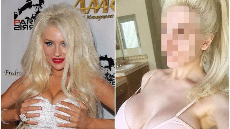 Tak ta by mohla strašit v domě hrůzy! Jindy zmalovaná zlatokopka Courtney Stodden se předvedla bez make-upu a jde z ní strach