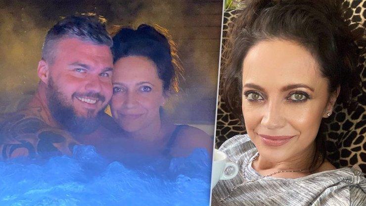 Lucie Bílá si užívá s mladším snoubencem Radkem: Noční romantika ve vířivce