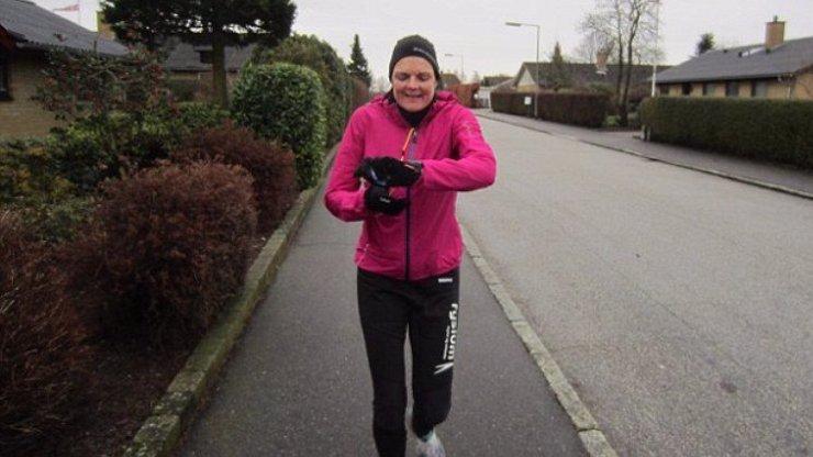 Annette Fredskov uběhla 366 maratonů za 365 dní.