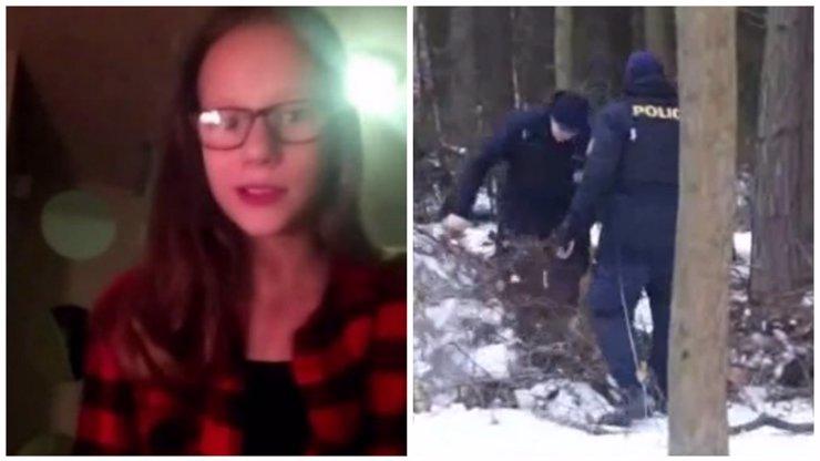 O nezvěstné Míše promluvil další svědek: Odpověď se skrývá v lese!