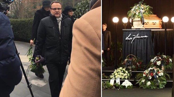 Tajný rodinný pohřeb Luďka Munzara: Jana Hlaváčová se neukázala
