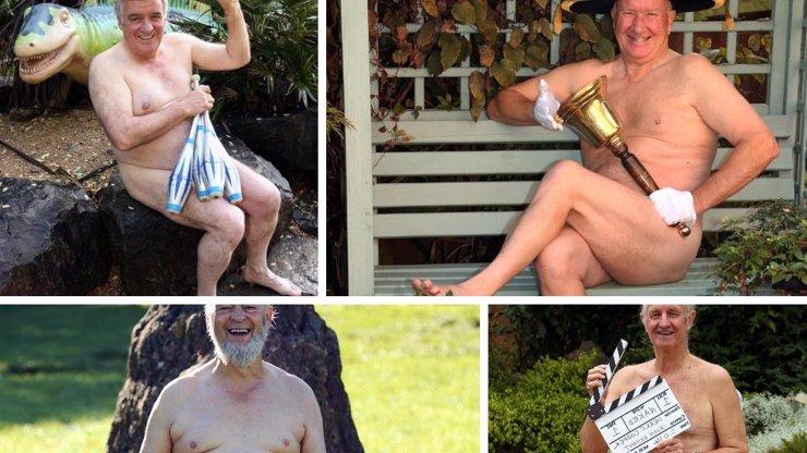 Tihle dědové se toho nebojí! Mrkněte na 5 fotek vetchých staříků, kteří se svlékli pro dobrou věc