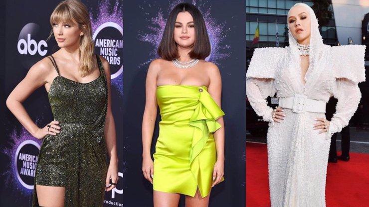 Selena Gomez zpět ve společnosti: Na American Music Awards zastínila Swift i děsivou Aguileru