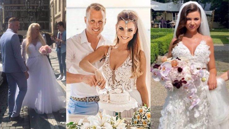 3 nejkýčovitější svatby Česka: Kolotočářka Štiková, pouťová panenka a našlehaná kremrole