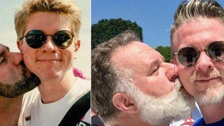 Gay pár vyfotil stejnou fotku po 24 letech vztahu a reakce lidí je neuvěřitelná! Fotka má víc než 600 tisíc lajků!