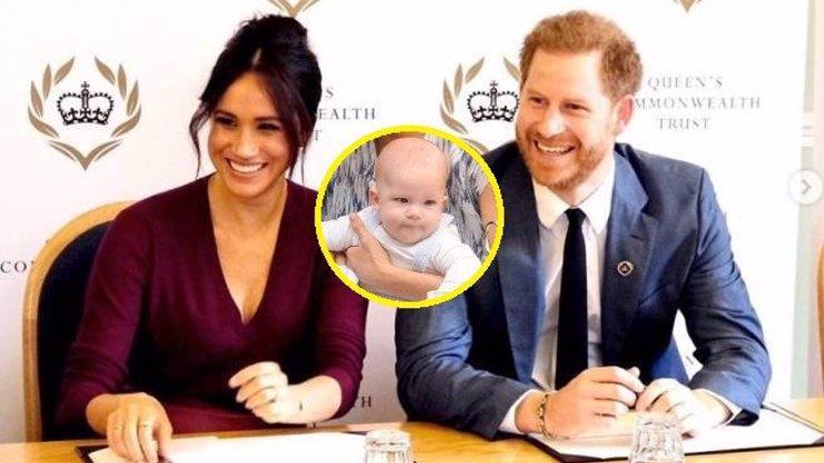 Vánoce Meghan Markle a prince Harryho: Archieho odvezli tisíce kilometrů od rodiny