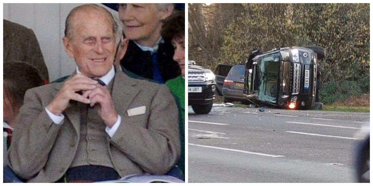 Vzdal se řidičáku: Princ Philip boural, zranil dvě ženy a teď si sype popel na hlavu