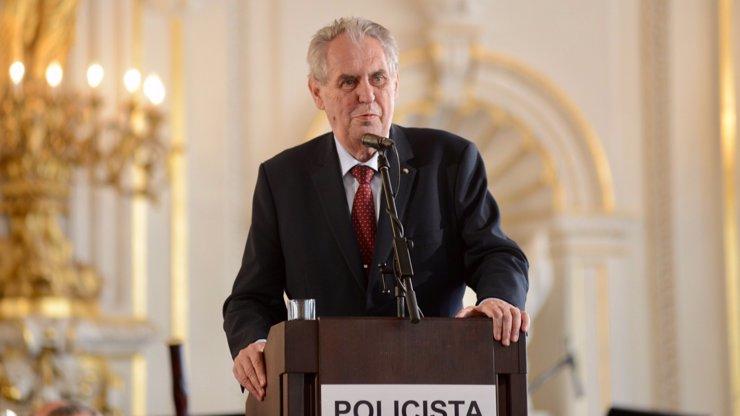 Strach o syna: Miloš Zeman popsal zděšení při střelbě v ostravské nemocnici