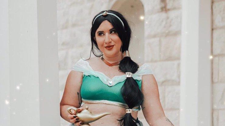 Disney princezny jak je svět neviděl: Krásné plus size modelky se navlékly do kostýmů