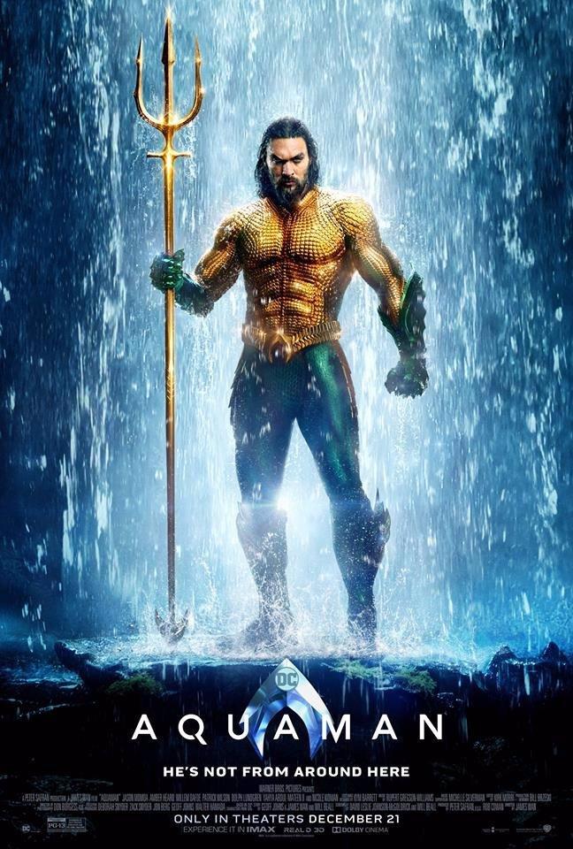 Aquaman a polonahý Jason Momoa: Dámy, tenhle superhrdinský film vás bude bavit!